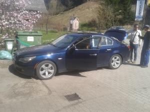 BMW 5 e60 na avto plin plineks lpg